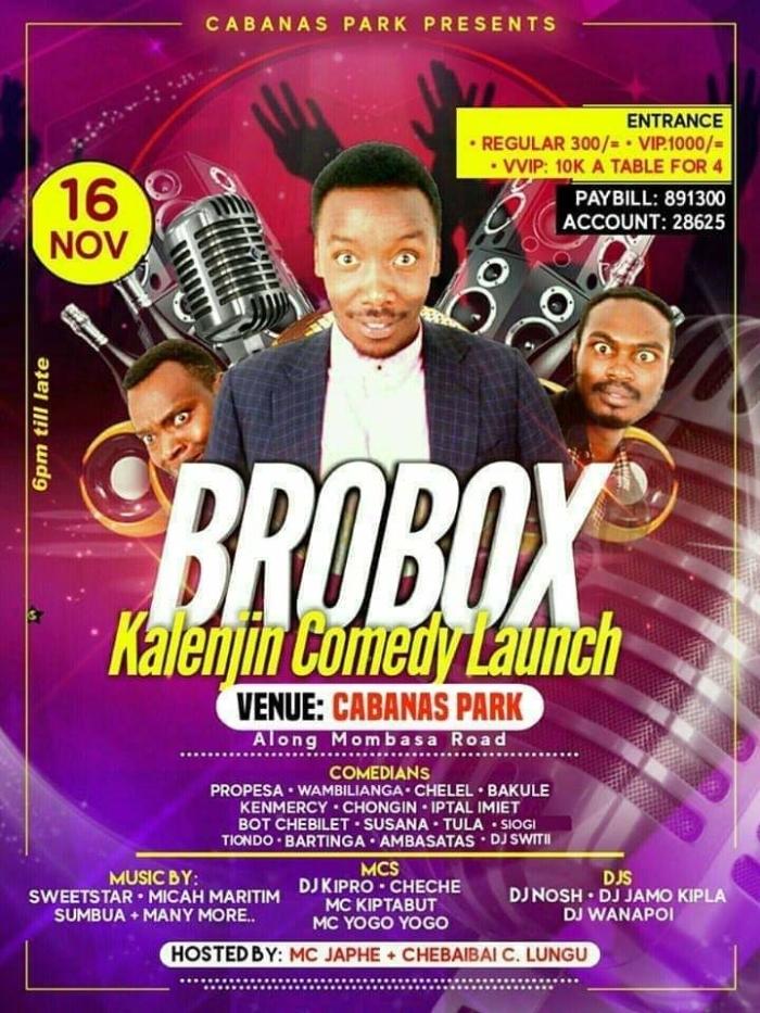 Kalenjin Comedy Launch