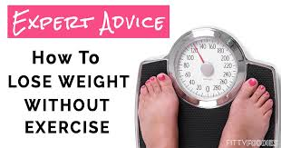 How To Lose Weight Without Exercise(courtesy)