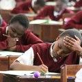 Students doing KCSE (courtesy)