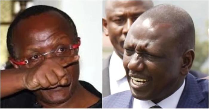 David Ndii attacks William Ruto