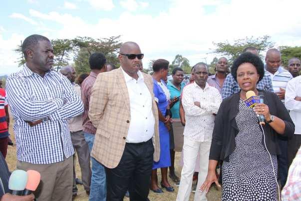 Governor Joyce Laboso, Isaac Ruto with savimbi