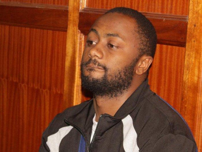 Joseph Irungu at a Milimani court (courtesy)