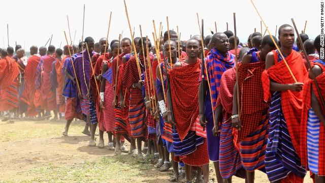 Maasai Warriors(courtesy)
