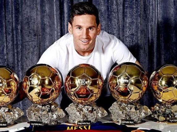 He has won the Ballon d'Or five times while at Barcelona [Courtesy]