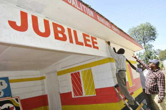 Nakuru County Jubilee Party offices: The ruling party's property could be auctioned over unpaid rent. [File, Standard]