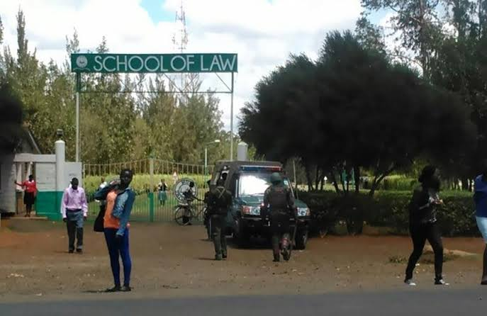 School of low Moi University (courtesy)