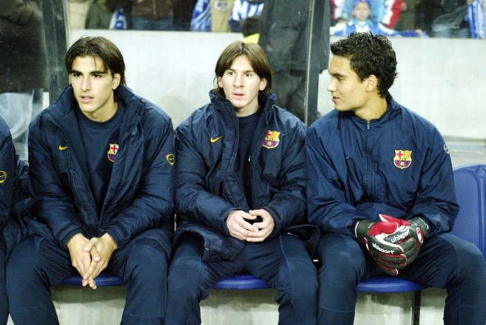 Messi Debut (Courtesy)