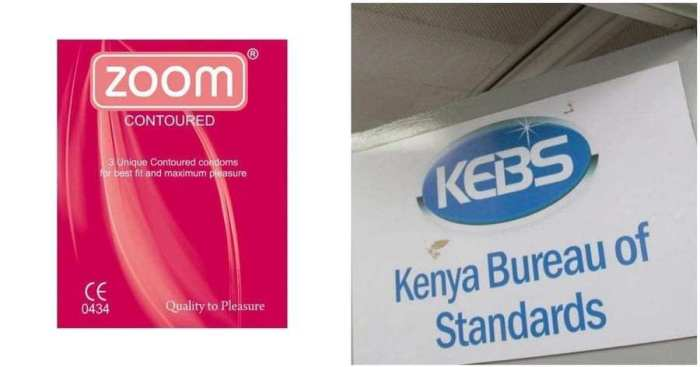 Man Sued KEBS and Beta Healthcare over Zoom condom burst.