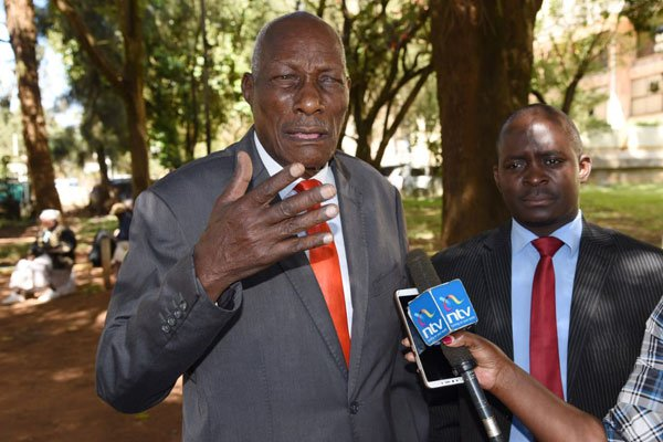 """Mr Kibor says he has suffered """"untold pain"""". PHOTO 