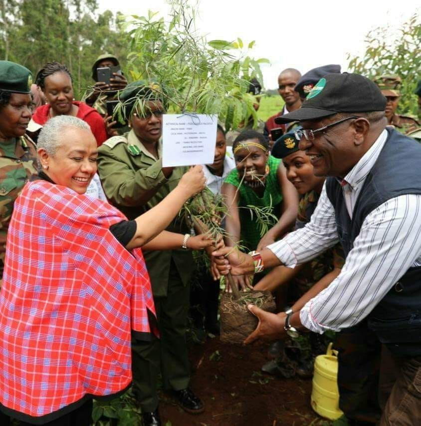"""""""Protecting our environment and forests is a shared responsibility that we shall relentlessly pursue to make our cities, among other urban and rural towns, environmental centres of excellence,"""" Cabinet Secretary Ministry of Environment and forestry Keriako Tobiko"""