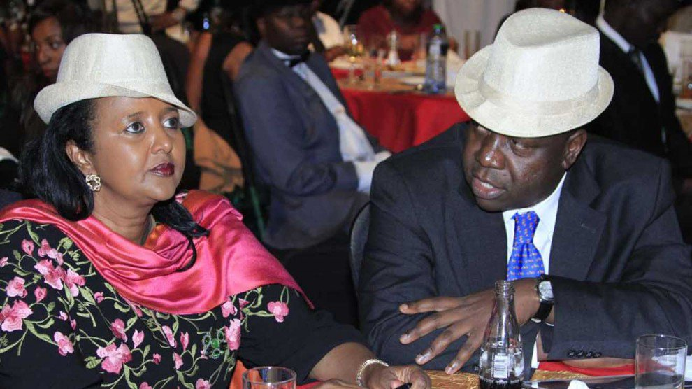 Interior CS Fred Matiang'i and his Education counterpart Amina Mohamed