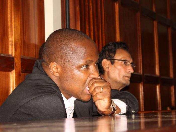 Nandi Hills MP Alfred Keter in a previous court proceeding