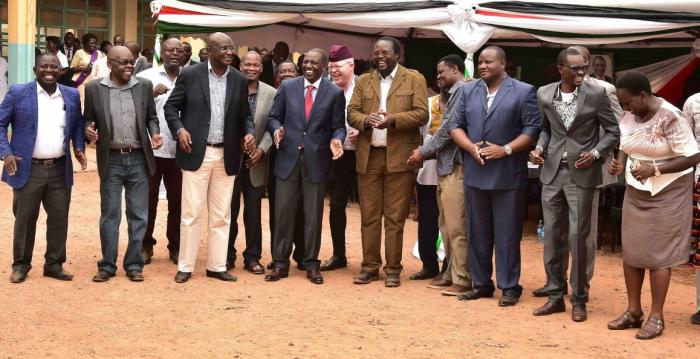 DP William Ruto at Christ the King Cathedral Church, Bungoma Town, Bungoma County