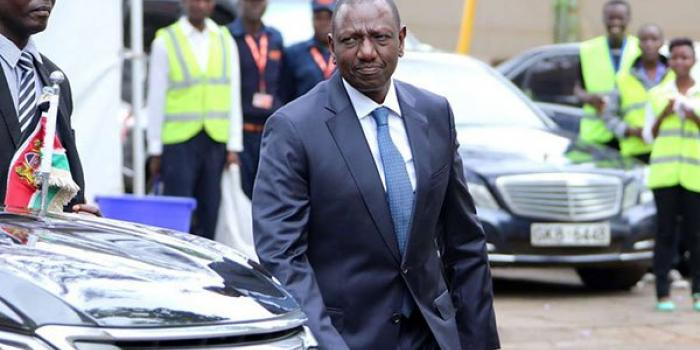 Deputy President William Ruto during a past event
