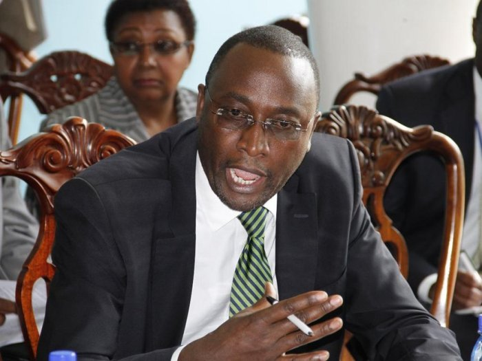 PSC secretary Jeremiah Nyegenye