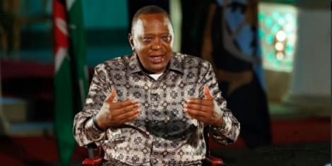 President Uhuru Kenyatta's round-table interview at State House, Mombasa
