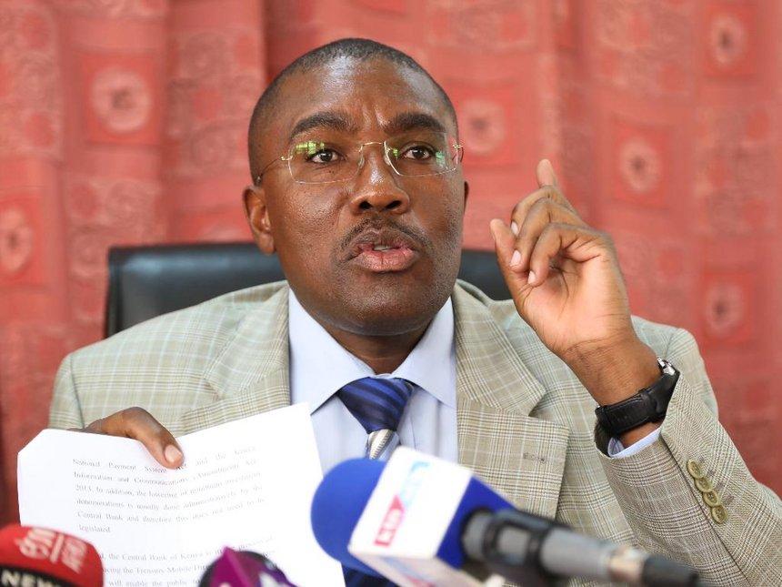 Former Mukurweini legislator Kabando wa Kabando