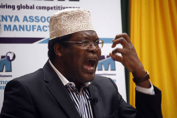 Exiled Lawyer Miguna Miguna
