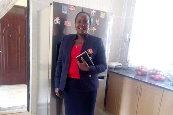 Agnes Gichoki who resigned as Health Minister of Kirinyaga County