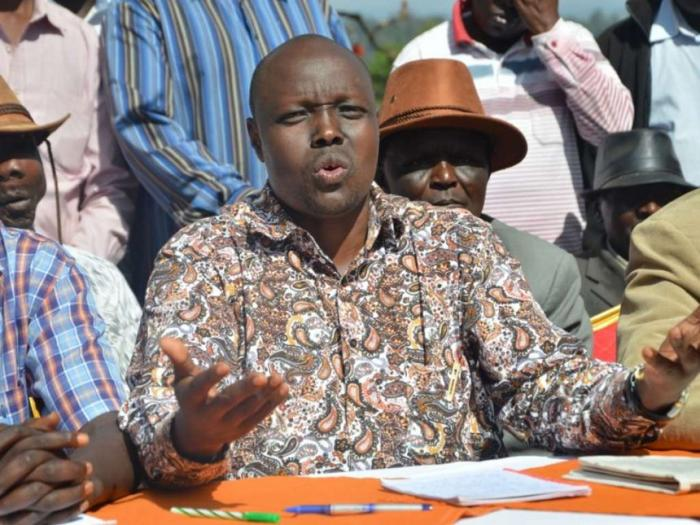 National Assembly Transport Committee Chairperson and Pokot South MP David Pkosing