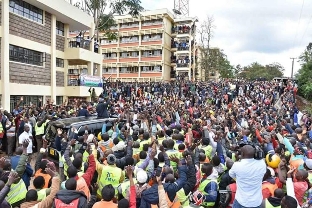 DP Ruto In Nyamira
